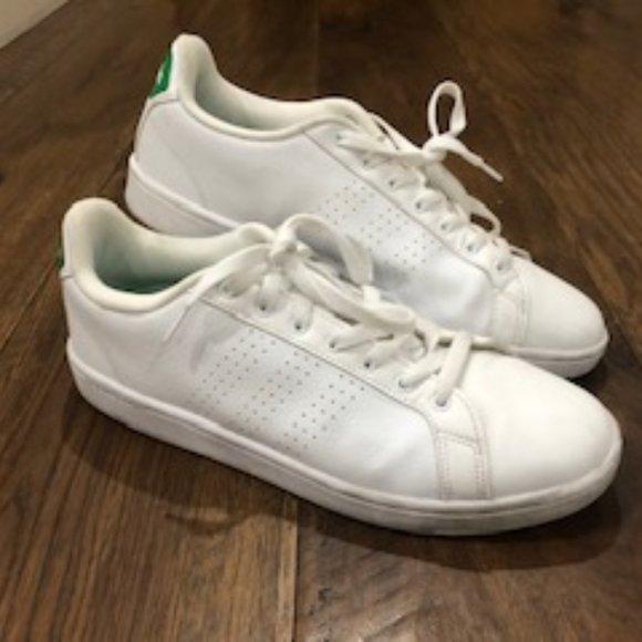 Adidas Neo Cloud-foam Advantage Clean White Green